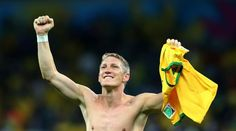 Germany's Schweinsteiger apologizes to hosts Brazil after 7-1 thrashing. Read more: http://bit.ly/1n6CA3U #WorldCup2014 #Football #Fanatic #Brazil #Germany