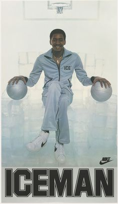 Poster, Iceman, 1977–79 Basketball Posters, Basketball Pictures, Basketball Legends, Sports Posters, Nba Pictures, Sports Art, Sports Teams, Basketball Jones, Nike Basketball