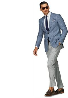 A look for a more casual office environment. From Suit Supply