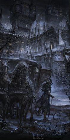 Castle of Scarlet Contessa Carmilla :: … Klicken Sie hier, um Wallpaper HD her. - Castle of Scarlet Contessa Carmilla :: … Klicken Sie hier, um Wallpaper HD herunterzuladen … wallpaper hd nature - ? Dark Fantasy Art, Fantasy City, Fantasy Places, Fantasy Artwork, Fantasy World, Dark Gothic Art, Carmilla, Arte Horror, Horror Art