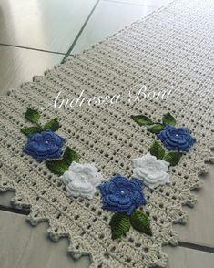Crochet Diy, Crochet Doilies, Crochet Flowers, Blanket, Rugs, Pasta, Crochet Carpet, Crochet Storage, Ganchillo