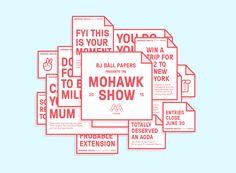 Ознакомьтесь с этим проектом @Behance: «The Mohawk Show 2015: Reminder Service» https://www.behance.net/gallery/28505269/The-Mohawk-Show-2015-Reminder-Service