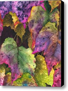 Fallen Stretched Canvas Print / Canvas Art By Casey Rasmussen White