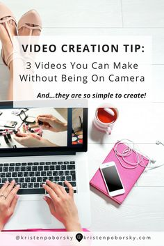 Is the thought of being on camera stopping you?  Then you'll want to read this post about 3 simple videos you can create without being on camera...and you'll love knowing how to use other peoples popular YouTube Videos on your blog!