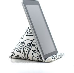 iPad holder. Prevents getting bonked in the face when using the iPad while laying down.