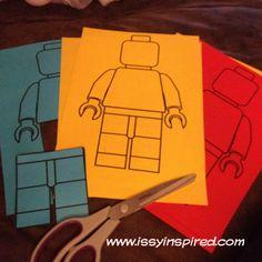 lego theme party craft