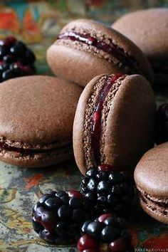 macarons. French Pastry
