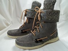 Sperry boots, I want these