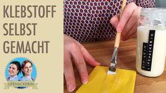 DIY Kleber | ungiftiger Klebstoff | Leim selber machen
