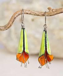 Image result for enamel earrings