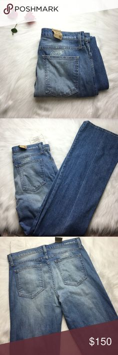"""CURRENT ELLIOT GIRL CRUSH RIPPED FLARE JEANS 31 Super cute and preloved! Worn once! Want to save more? Bundle and save on shipping. Measurements:  Length: 44.5""""  Underarms: Inseam: 32.5""""  Waist: 15""""  * smoke free home * Reasonable offers only please * All items are recorded in condition listed prior to shipping  * follow me on IG for exclusive sale offers @theposhpassport_ Current/Elliott Jeans Flare & Wide Leg"""