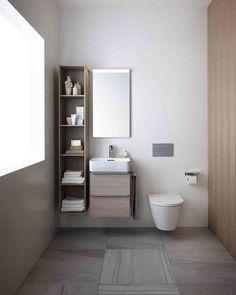 Enkle og funksjonelle løsninger på badet med serien Val fra Laufen #rørkjøp