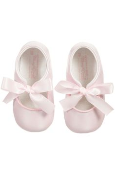 3b09728bbd49 Mayoral Pink Ribbon Pre-Walker-Shoes - Main Image Baby Girl Shoes