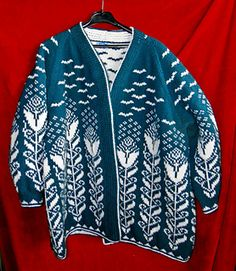 Ravelry: Cynara pattern by Dagmar Lutz Sweater Knitting Patterns, Knit Patterns, Double Knitting, Free Knitting, Raglan, Jacket Pattern, Pulls, Crochet Projects, Ravelry