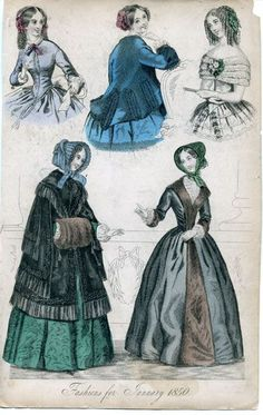 1850 Fashion