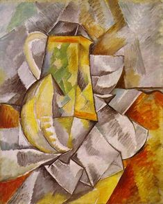 The pitcher - Georges Braque - WikiArt.