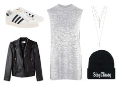 Untitled #24 by fckedlover on Polyvore featuring polyvore, beauty, Panacea, Topshop, Alexander Wang and adidas Originals
