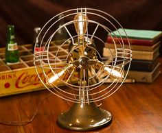 (133) Fancy - Vintage Industrial Fan Lamp