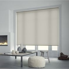 Store Enrouleur Tamisant Inspire Blanc Blanc N 5 60x250 Cm Store Enrouleur Store Occultant Stores