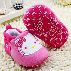 Hello Kitty baby girl booties sneakers | Mini Booties