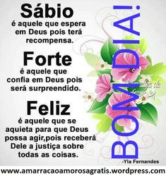 bom dia!! Words, Sign, Google, Truth Quotes, Powerful Quotes, Verses, Motivational Quotes, Inspirational Quotes, Pretty Quotes