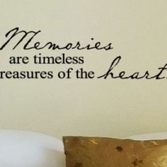 memories are timeless treasures of the heart vinyl lettering wall sayings home decor quote sticker 10