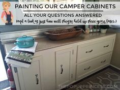 Everything you need to know to successfully paint your pop up camper cabinets