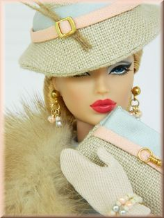 *And Into Fall* OOAK Downton Abby Fashion for Royalty & Silkstone Barbie~Joby