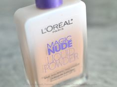 This is magic in a bottle!  The L'Oreal Magic Nude Liquid Powder applies on your face almost like water and dries to a light, flawless finish!