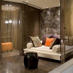 VIP Treatment Suite at ESPA at The Istanbul Edition, interior design by HBA/Hirsch Bedner Associates.