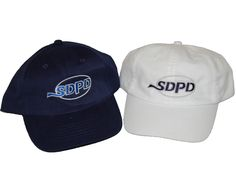 SDPD soft style kid's ballcaps for are $10.00 (plus tax). These kid's ballcaps are adjustable for the perfect fit, and comes in two colors, white and blue. Pick one up today!!
