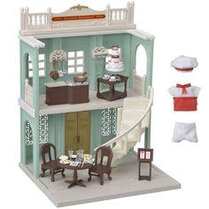 cda2c6eaf5f1 Epoch Sylvanian Families Town Series Restaurant of City TS02 Doll House