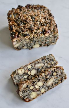A very special Gluten-Free Loaf: All Seed and Nut Bread