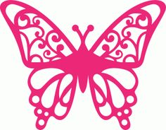 beautiful butterfly--------------------I think I'm in love with this shape from the Silhouette Online Store!