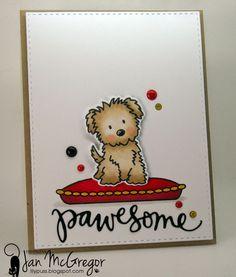 LilyPuss Cards: Awwww...