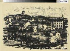 Kansallisgalleria - Taidekokoelmat - Ateneum Eteläsatama Marius af Schulten 1916