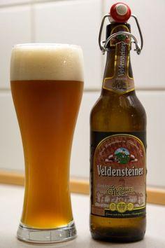 Veldensteiner Brauerei -Weissbier Dunkel 5,1% pullo
