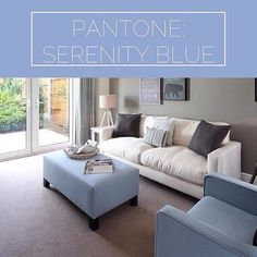 #TopTip: if your other half isn't keen on the #RoseQuartz trend then why not go for #SerenityBlue instead? This show home design uses just the right amount to deliver an on trend style without looking over designed and arranged.  #ColourOfTheYear #Wednesd