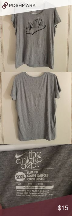 Used Nike plus size t-shirt, good condition Nike plus size tee Nike Tops Tees - Short Sleeve