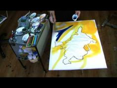 Watercolour painting: a different approach. - YouTube