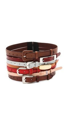 Maison Martin Margiela Multi Leather Belt
