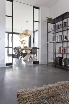 Meest recent Pic Grijs Huis Decor Tips Black Floor, Room Interior Design, Home Reno, My Dream Home, Interior Inspiration, My House, Sweet Home, New Homes, House Design