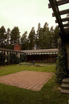 Säynätsalo Town Hall, Säynätsalo  Alvar Aalto, 1951