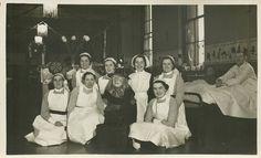 Halloween Nursing Group,1930s St James' Hospital Leeds.