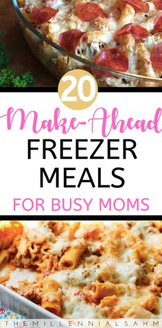 Whether youre a new mom to be, or a busy mom looking to save time and money, these delicious freezer meal ideas are perfect for the entire family! Freezer Meals, Make-Ahead Breakfast, Make-Ahead Freezer Meals, Crockpot Freezer Meals