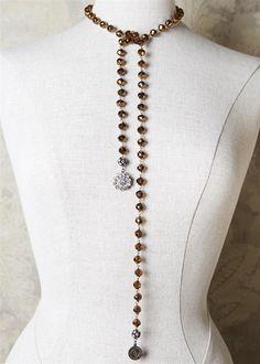 lariat necklaces are so versatile