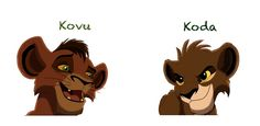 Kovu vs Koda by Simba Disney, Disney Lion King, Lion King Fan Art, Lion Art, Arte Disney, Disney Art, Lion King Kovu, Scar And Mufasa, Fennec Fox Pet