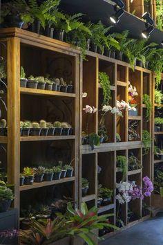Pin by alaa ghouth on planting in 2019 garden shop, flower shop design, gar Garden Shop, Home And Garden, Flower Shop Interiors, Garden Center Displays, Vitrine Design, Flower Shop Design, Grow Tent, Store Design, Design Design