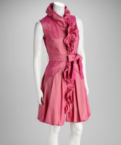 Take a look at this Pink Ruffle Dress on zulily today!