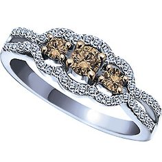 chocolate diamond engagement rings - Google Search